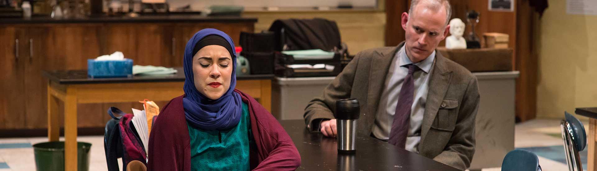 Caitlin Nasema Cassidy and Barlow Adamson. Photo: A.R. Sinclair Photography.