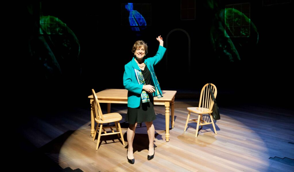 Debra Wise in The Other Place. Photo: A.R. Sinclair Photography.
