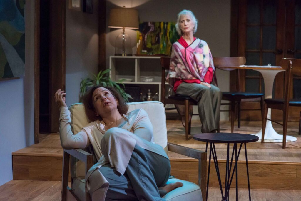 Lee Mikeska Gardner & Sarah DeLima in Marjorie Prime. Photo: A.R. Sinclair Photography.